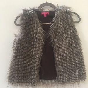 Other - Girls faux fur vest